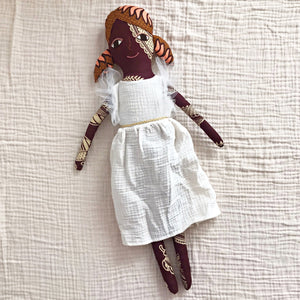 ●40%OFF●送料無料!POLAE DOLLS WITH  WHITE RUFFLE DRESS