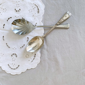 ●40% OFF● VINTAGE SERVING SPOON SET