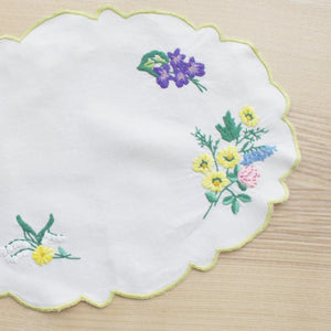 VINTAGE ENGLISH FLOWER CLOTH