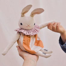 MEDIUM RABBIT IN DRESS | CREAM