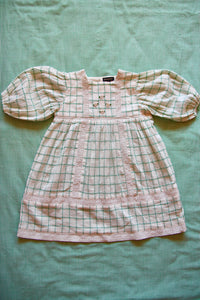 MEMORY DRESS  | GREEN CHECK