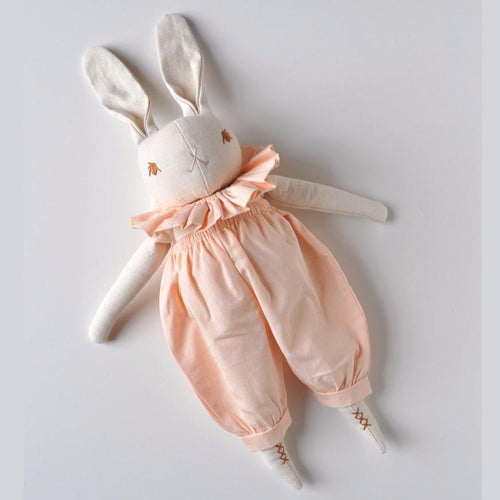 HOLIDAY EXCLUSIVE | MEDIUM RABBIT WITH NECK RUFFLE