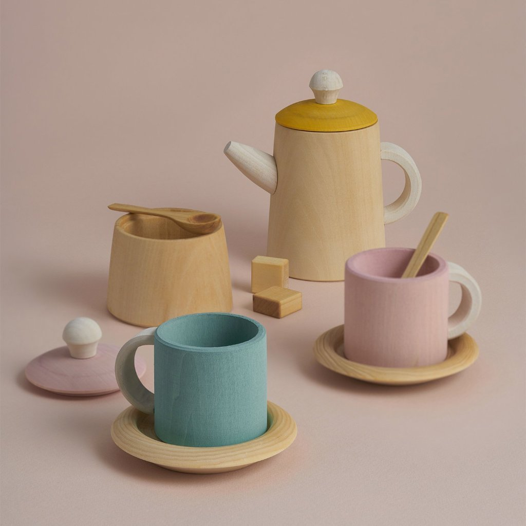 TEA SET COLOUR