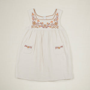 ●40% OFF● TABITHA DRESS | IVORY (ONLY 1 LFET in 7-9Y)