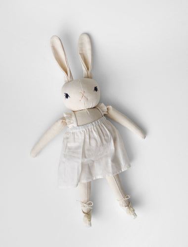 MEDIUM BALLET RABBIT | CREAM