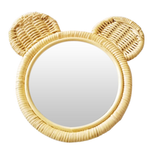 ●30%OFF● RATTAN ANIMAL MIRROR | BEAR