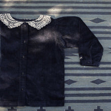 BLOUSE BLACK CORDUROY
