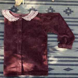 BLOUSE ROUGE CORDUROY (LAST ONE!)