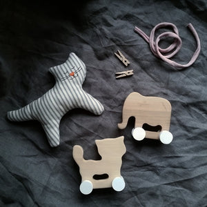 MINI CAT AND ELEPHANT SET (ONLY 1 LEFT)