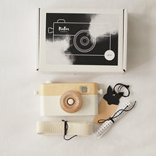 CRAFFOX WOODEN TOY CAMERA GREY
