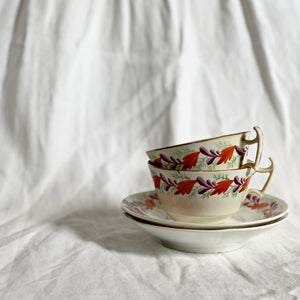 VINTAGE TEA CUP AND SAUCER SET