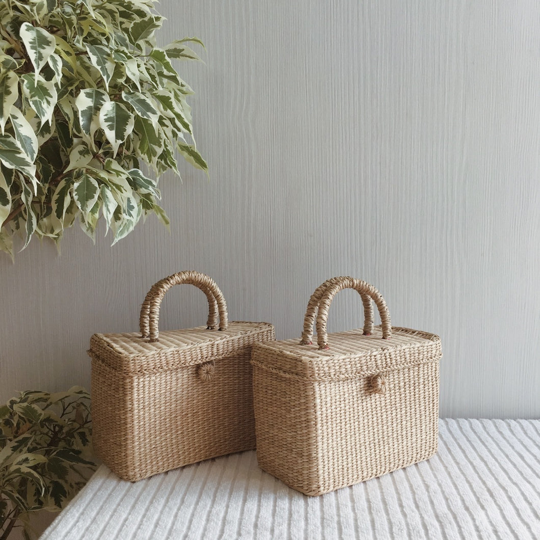MINI SUITCASE BASKET