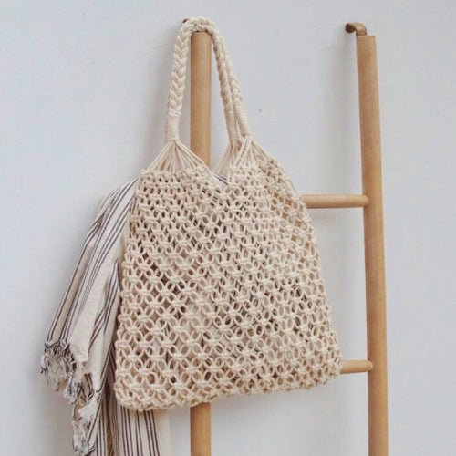 CROCHET BAG IVORY (ONLY 1 LEFT)