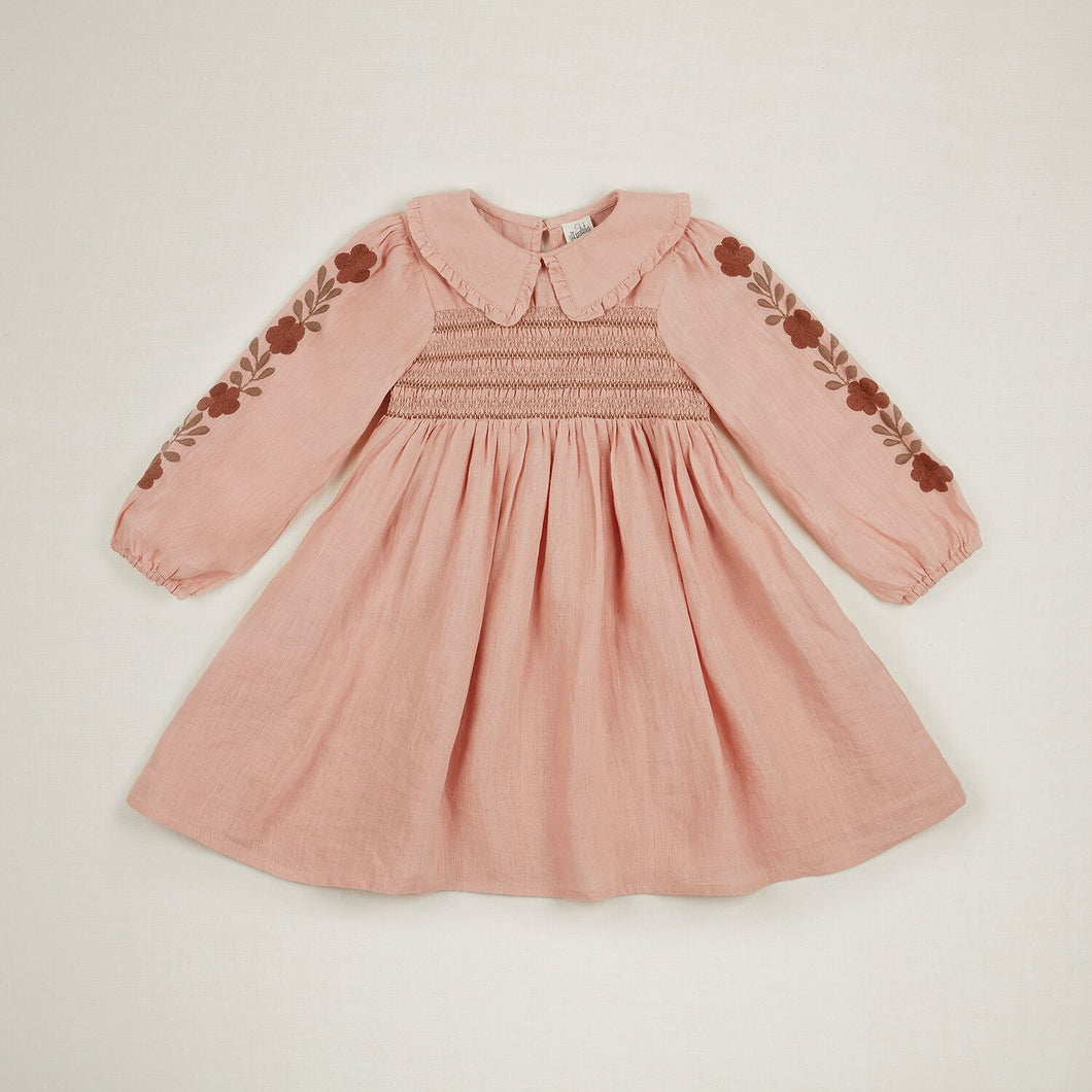 NANCY DRESS | CARNATION