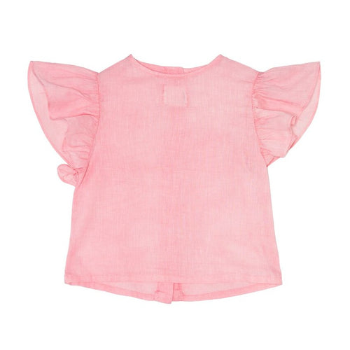 ●60%OFF● YELLOWPELOTA PETER PAN BLOUSE STRAWBERRY (LAST ONE!)
