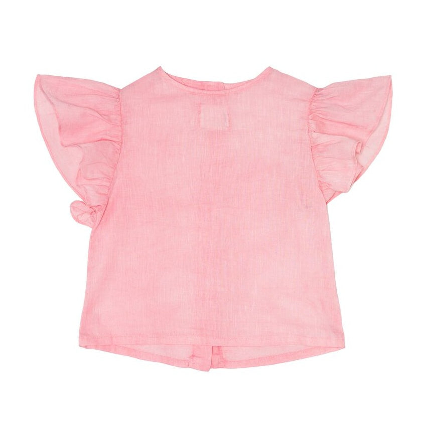 ●60%OFF● YELLOWPELOTA PETER PAN BLOUSE STRAWBERRY