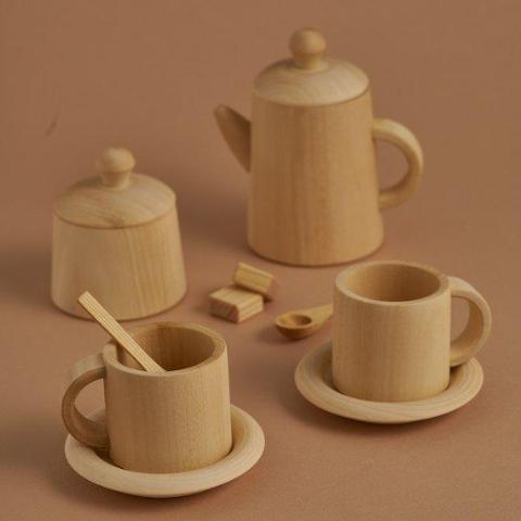 TEA SET NATURAL
