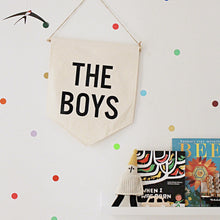 ●50%OFF●  WALL BANNER THE BOYS (Only 1 left!)