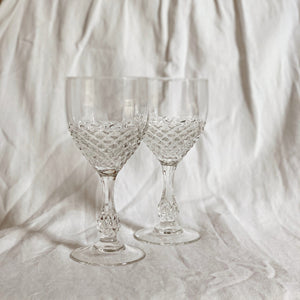 ●40% OFF● VINTAGE WINE GLASS SET | LARGE