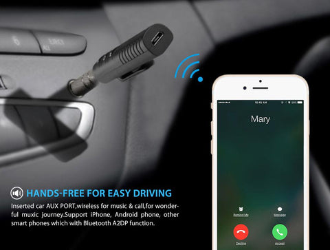 Bluetooth Car Music Audio Adapter