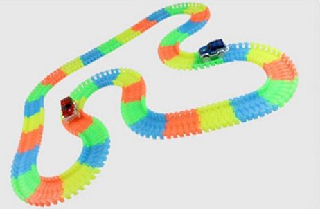 Glowing Car Racing Set for Kids