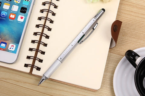 6 in 1 Multifunction Ballpoint Pen
