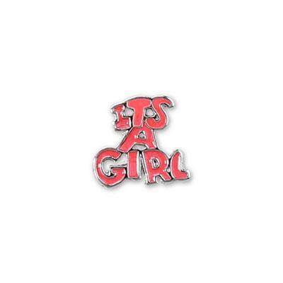 It's a Girl Charm Charm Necklace Charm Tell Me A Charm Floating Charm Lockets