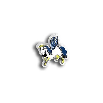 Blue Flying Unicorn Charm Necklace Charm Tell Me A Charm Floating Charm Lockets