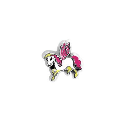 Flying Unicorn Charm - Pink Charm Necklace Charm Tell Me A Charm Floating Charm Lockets