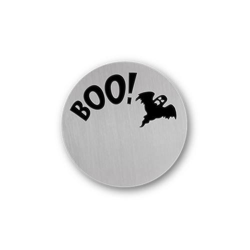 Halloween Boo Charm Necklace Plate Tell Me A Charm Floating Charm Lockets