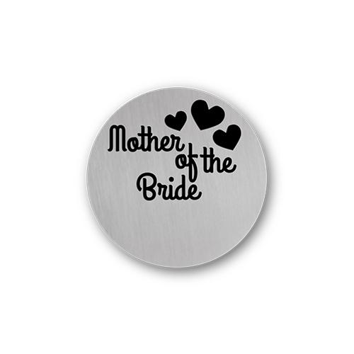 Mother of the Bride Message Plate