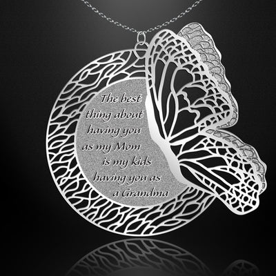 Metamorphosis- Grandmother Necklace