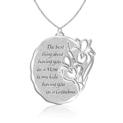 Iris Bouquet- Grandmother Necklace
