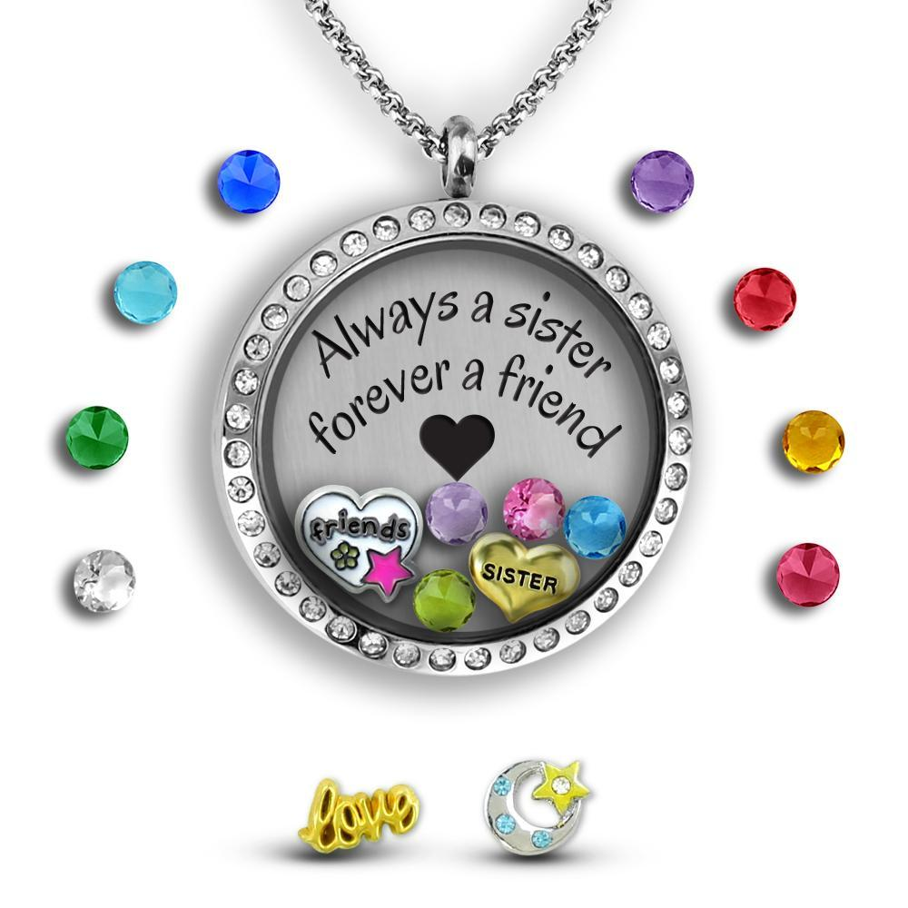 sister friend together forever sister to sister quote gift for
