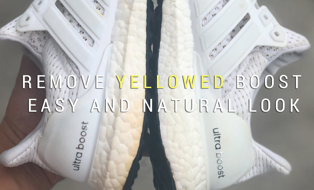 [GUIDE] HOW TO REMOVE YELLOWED BOOST MID-SOLES IN AN EASY AND NATURAL WAY.