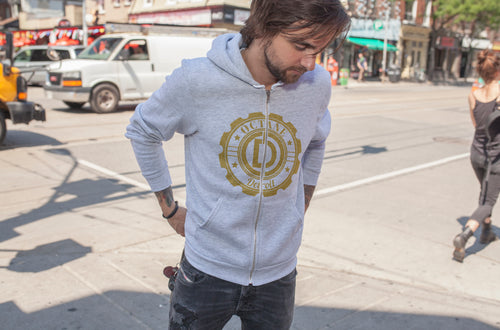 Detroit Hoodie with Bold Detroit Octane Logo