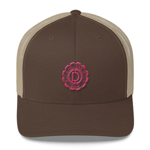 "Woman's Retro Trucker Cap ""this one screams Hip Detroit"""