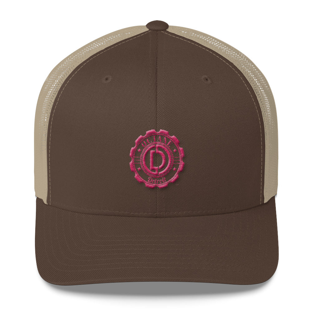 Woman's Retro Trucker Cap