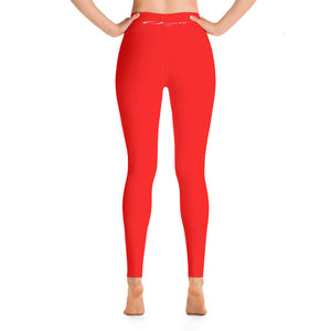 Detroit Octane Red Yoga pants
