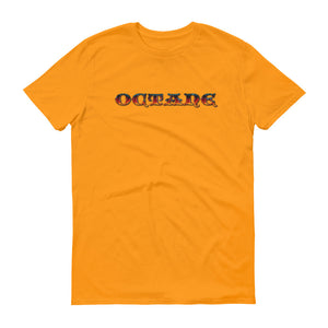 Fire Octane with Detroit Octane logo on back t-shirt