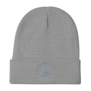 Knit Beanie with 3D Detroit Octane logo