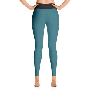 Yoga Leggings Teal from Detroit Octane