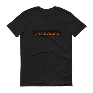 Fire Octane with Detroit Octane logo on back Short sleeve t-shirt