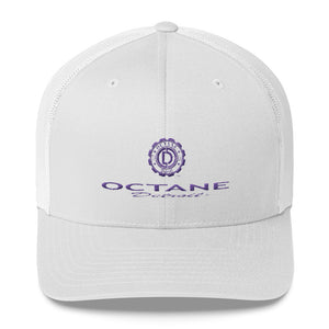 Woman's Trucker Cap with Detroit Octane Bold Logo