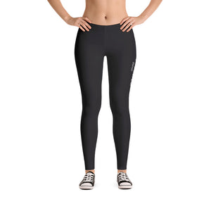 Black Detroit Octane bold statement Leggings
