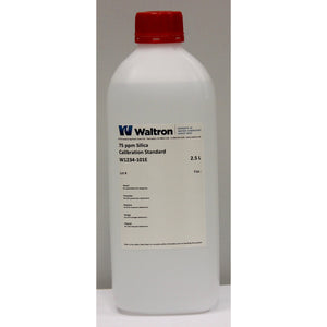 Silica Calibration Standard, 75ppm, 2.5L