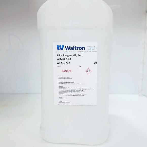 Molybdate Reagent #2 for Swan COPRA Silica analyzer, 10 Liter