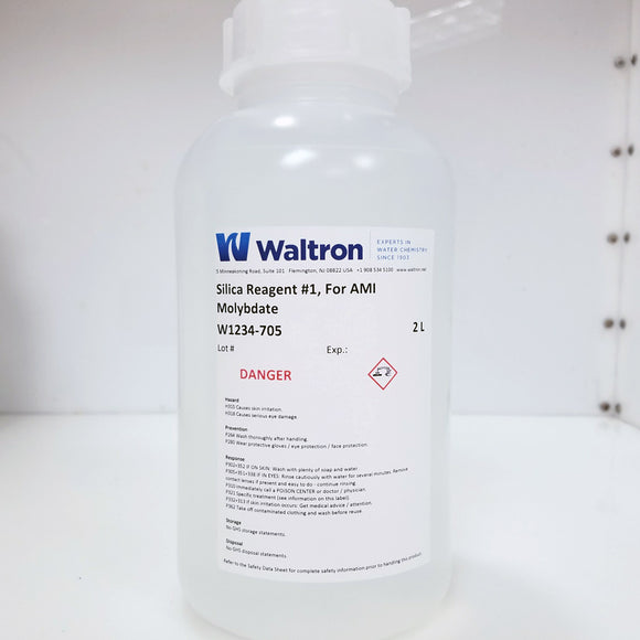 Silica Reagent #1 Moybdate, for Swan AMI Silica or Silitrace analyzer, (Swan Compatible) 2L