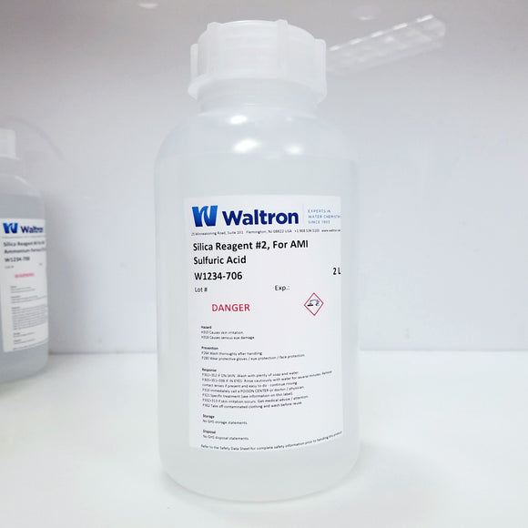 Sulfuric Acid Reagent #2 for Swan AMI Silica or Silitrace analyzer, 2 Liter
