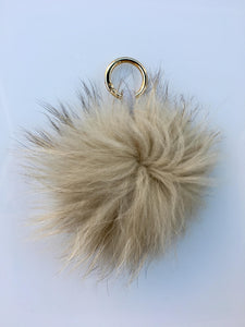 Fox keyring - Brown